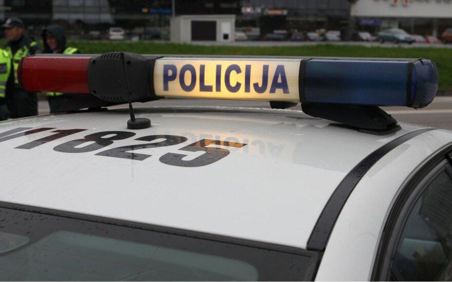 На окраине Вильнюса столкнулись три автомобиля