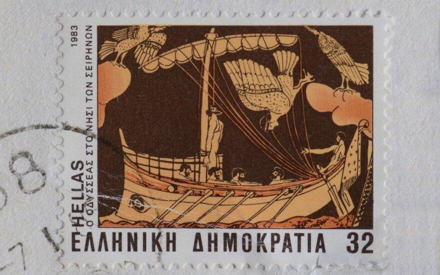 Senovės graikų laivas