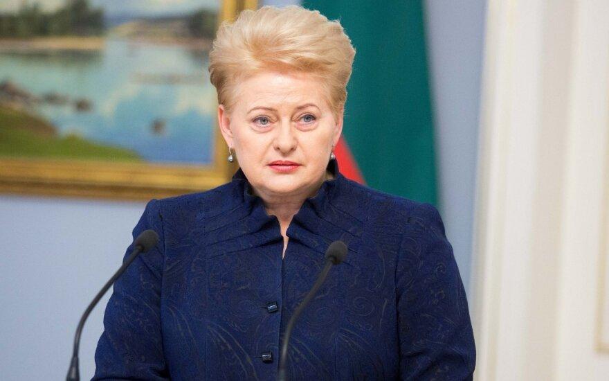 Президент Литвы считает, что число министерств не имеет значения