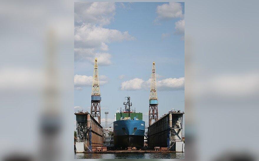 Laivų remonto platforma