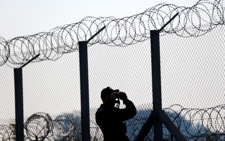 Литовские пограничники задержали перемещенного в Латвию сирийского беженца