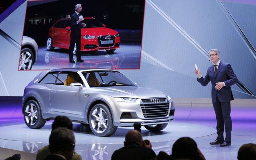 Audi crosslane coupé koncepcija