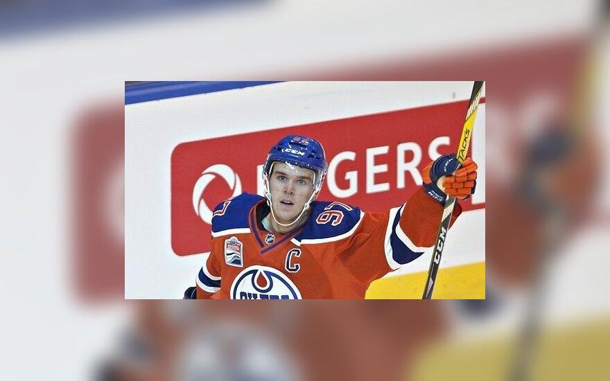В НХЛ завершился регулярный сезон-2016/17, Макдэвид набрал все-таки 100 очков