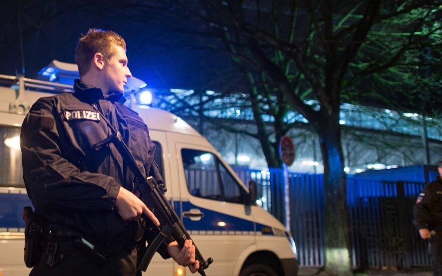 Hanoveryje evakuotas stadionas prieš rungtynes tarp Vokietijos ir Olandijos