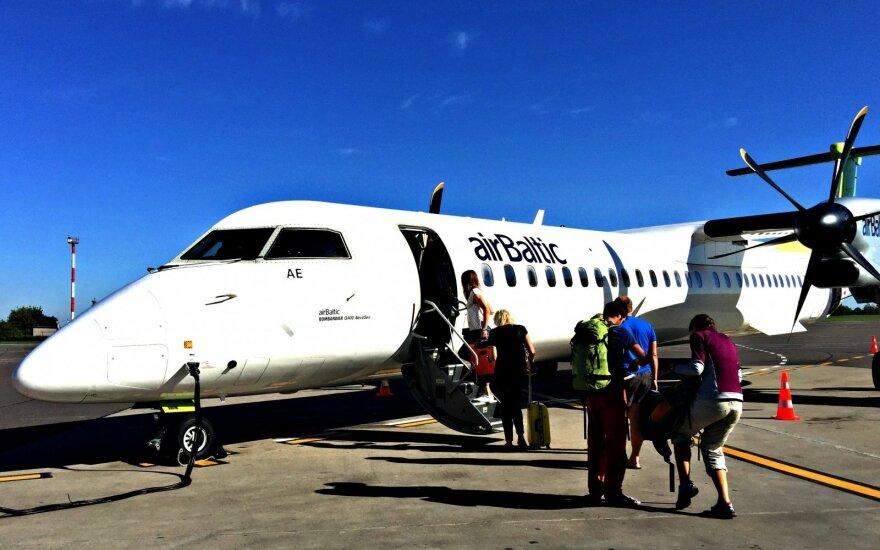 Air Baltic возобновляет рейсы из Вильнюса в Ригу
