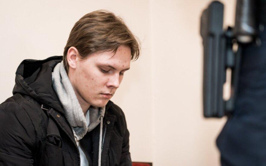 Суд продлил арест обвиняемому в намерении совершить теракт в Вильнюсе студенту