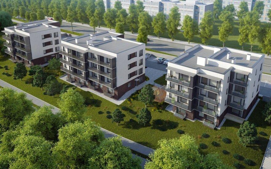 Цены на жилье в Литве росли быстрее, чем в среднем по ЕС