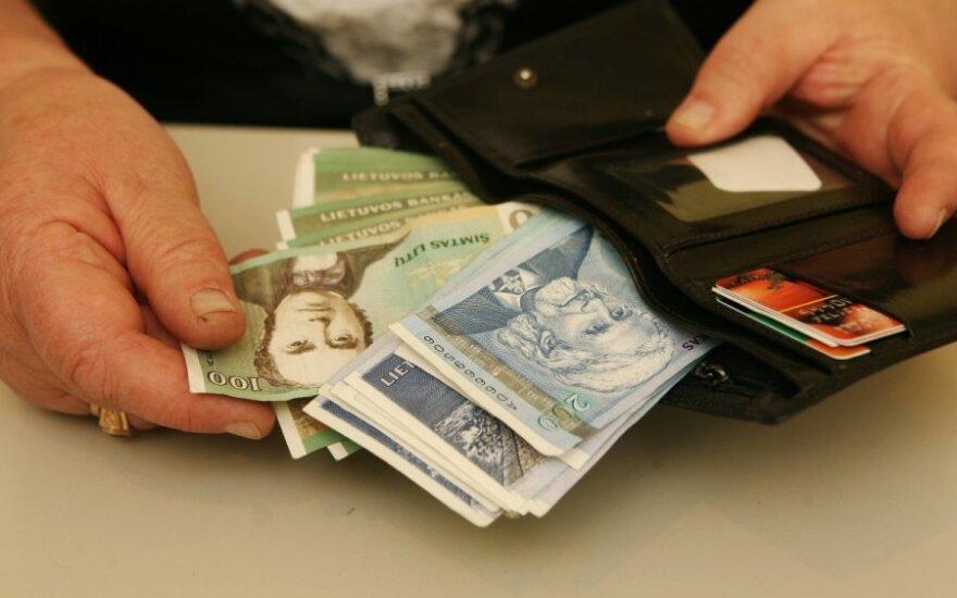 Центробанк Литвы продаст банкноту достоинством в 1000 литов