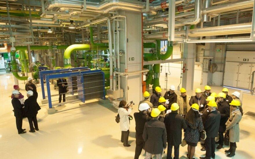 Блок Литовской электростанции заложили банкам