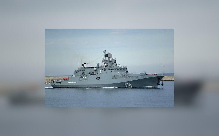 Новейший российский фрегат отправился из Севастополя к берегам Сирии
