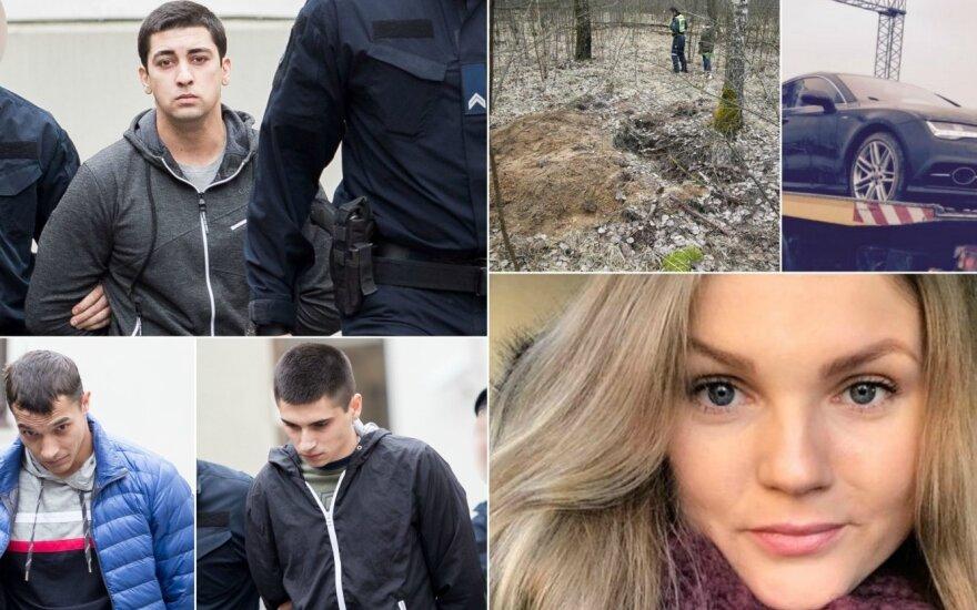 Подозреваемые в убийстве Страздаускайте рассказали, как все происходило