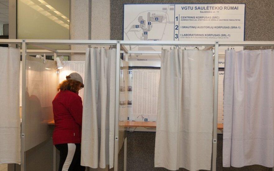 Начинается досрочное голосование в трех избирательных округах