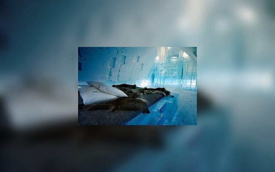 В Швеции на полгода открыли гостиницу изо льда