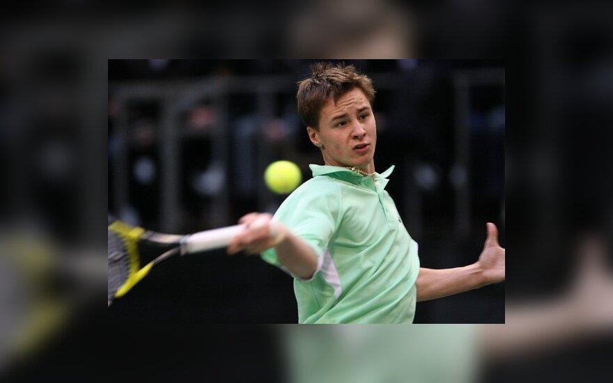 Р.Беранкис вышел в финал теннисного турнира в Турции
