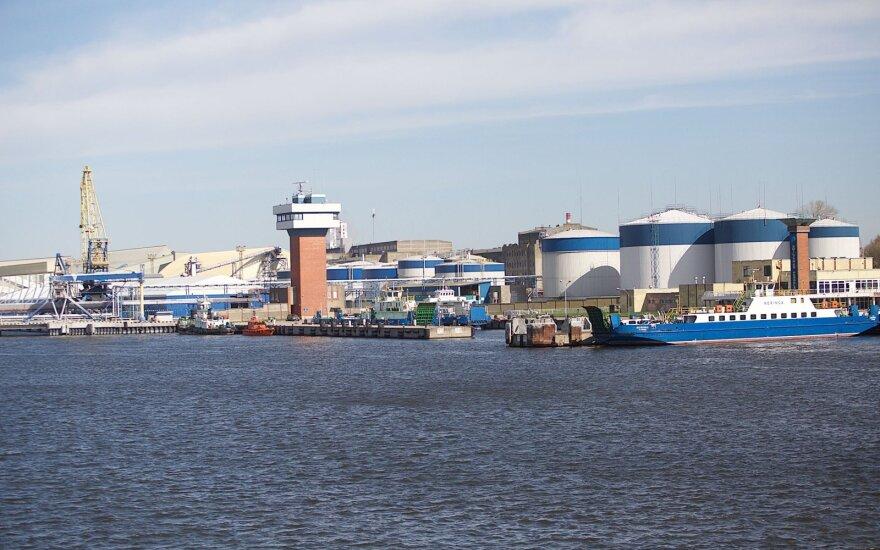 В Клайпеду прибыла первая партия СПГ для концерна Eesti Energia