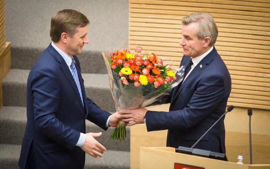 Спикером парламента Литвы стал Пранцкетис