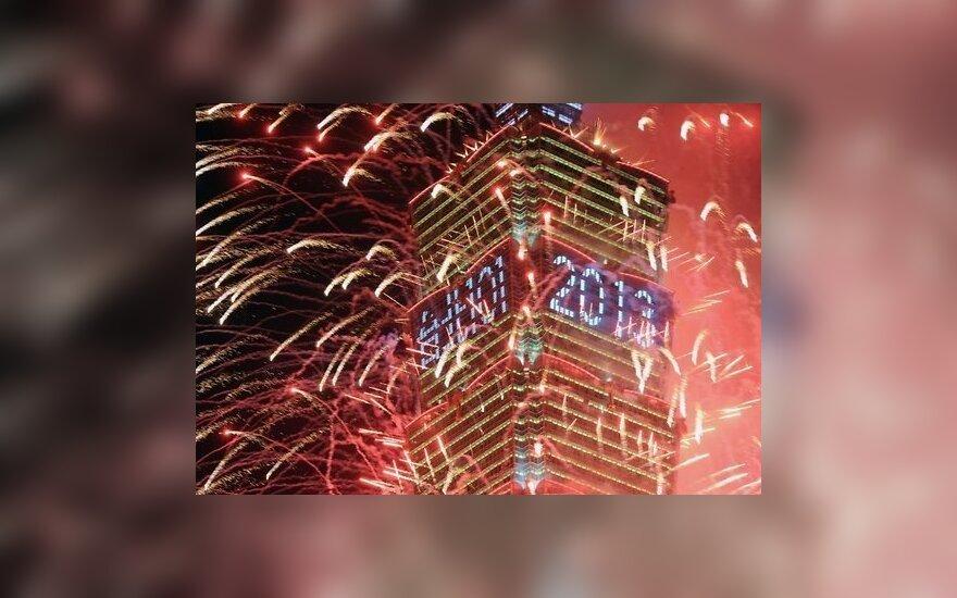 Фоторепортаж: встреча Нового года в мире