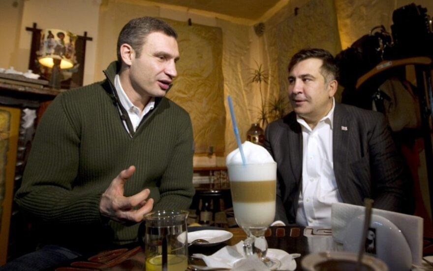 """Кличко повел """"Удар"""" на выборы и позвал с собой Саакашвили"""