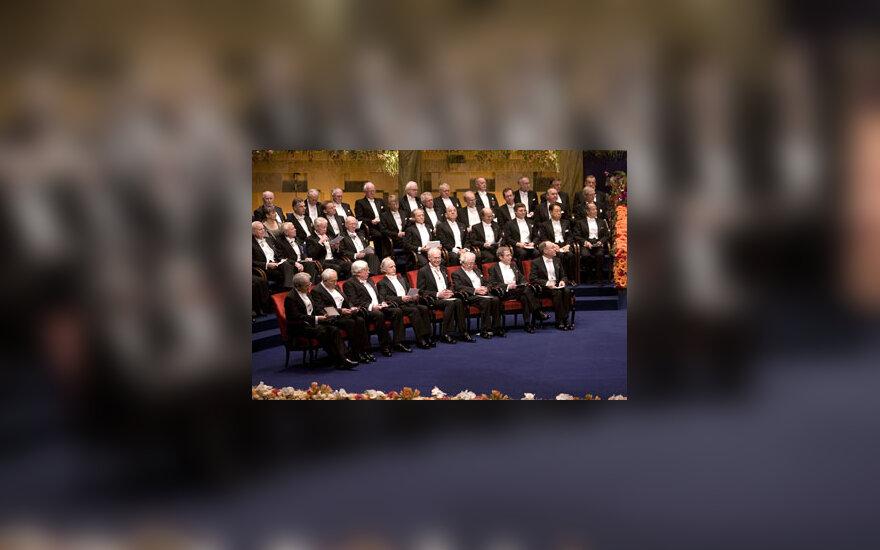 Nobelio premijos laureatai