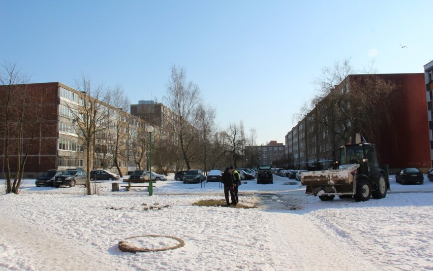 В Клайпеде трубы не выдержали морозов: сотни людей остались без воды