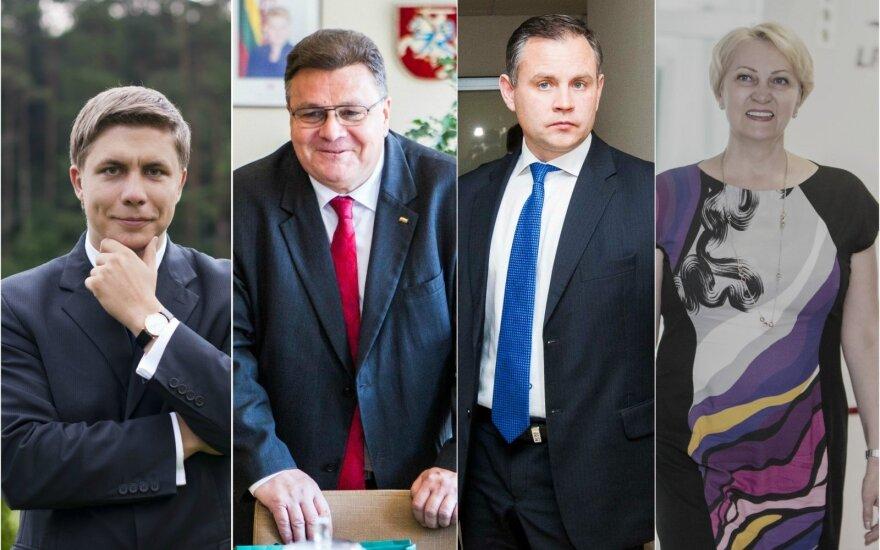 Mindaugas Sinkevičius, Linas Linkevičius, Darius Petrošius, Rasa Budbergytė