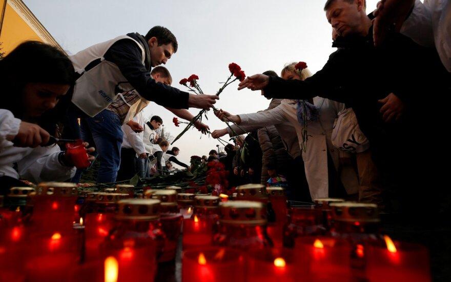 В Москве - акция в память о жертвах взрыва в Петербурге