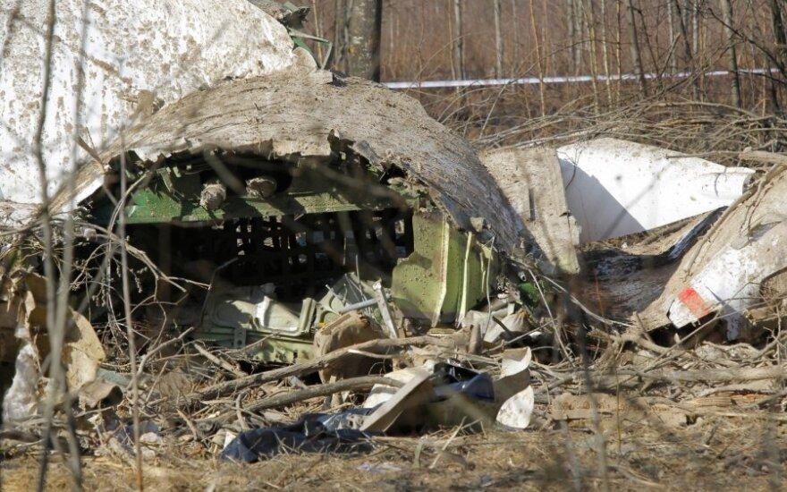 Польские эксперты нашли следы взрывчатки на останках жертвы крушения Ту-154 с Качиньским
