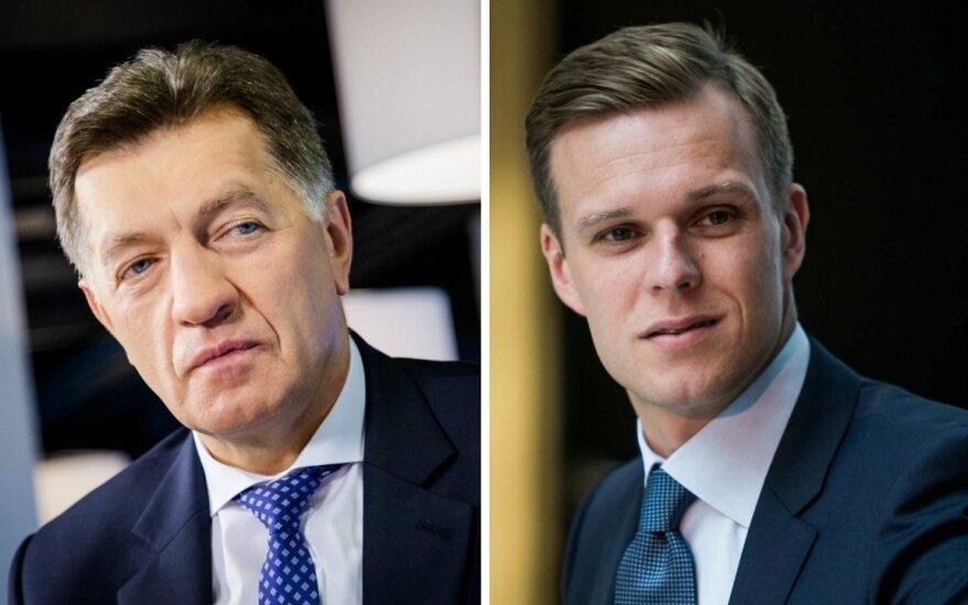 Накануне выборов удивляют рейтинги Буткявичюса и Ландсбергиса