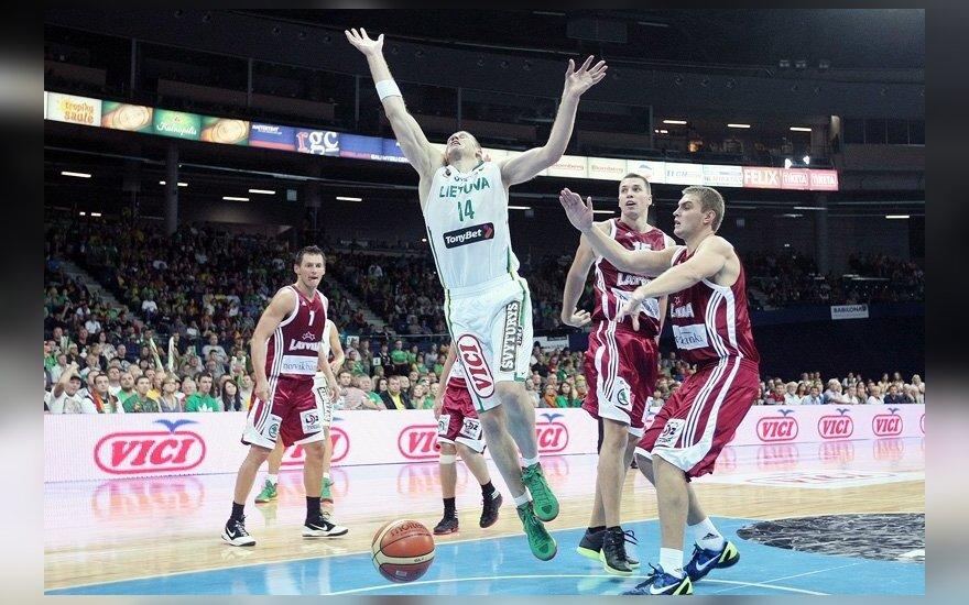 Литва одолела сборную Латвии в товарищеском матче