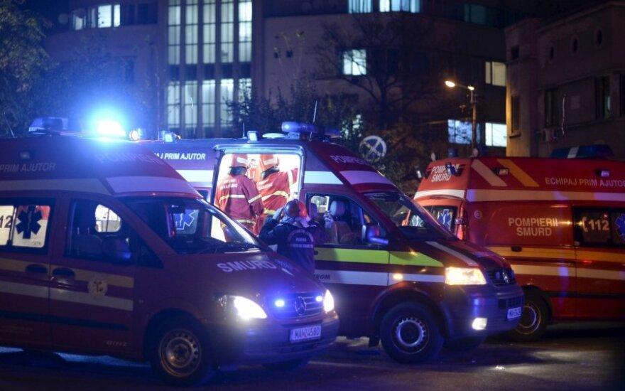 В Румынии арестованы владельцы сгоревшего ночного клуба