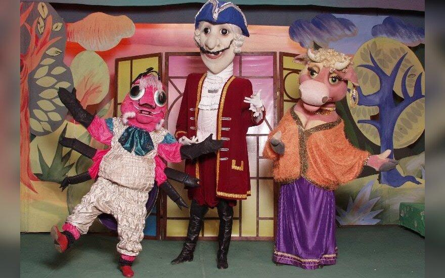 В Вильнюс приедет Московский театр ростовых кукол