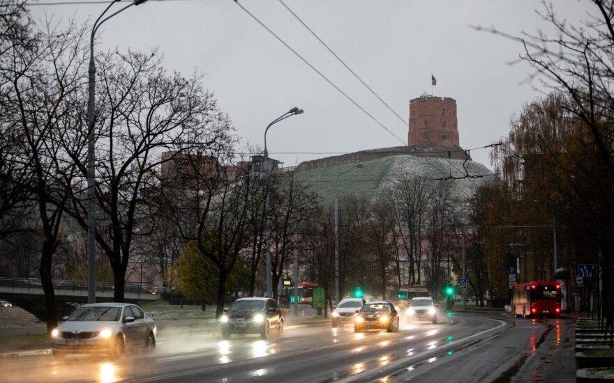 Погода: часть Литвы накрыл снег, но ожидается почти бабье лето