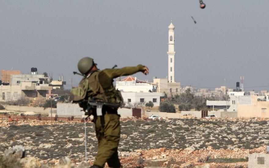 Izraelio karių ir palestiniečių susirėmimas