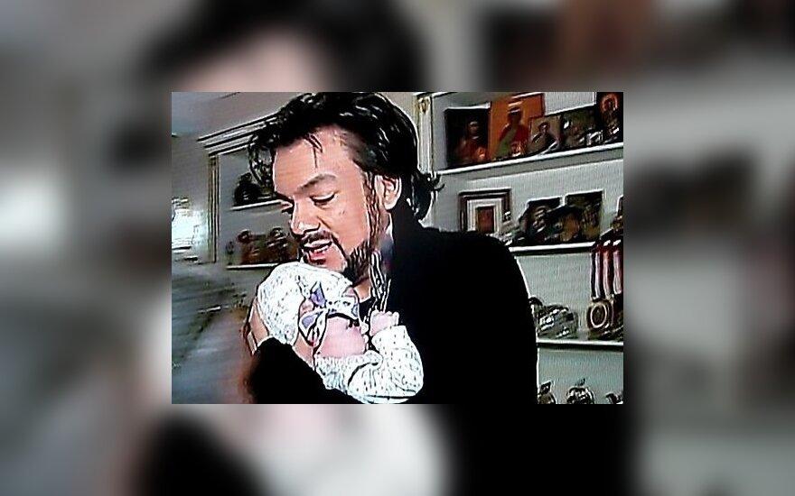 Кадр из сюжета Первого канала