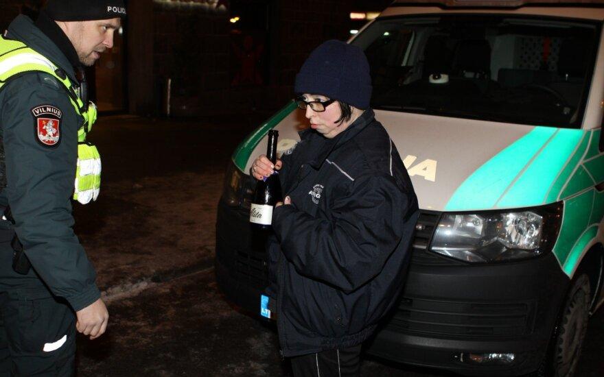 Новогодняя ночь в Вильнюсе: выстрелы с балкона и штурм общежития
