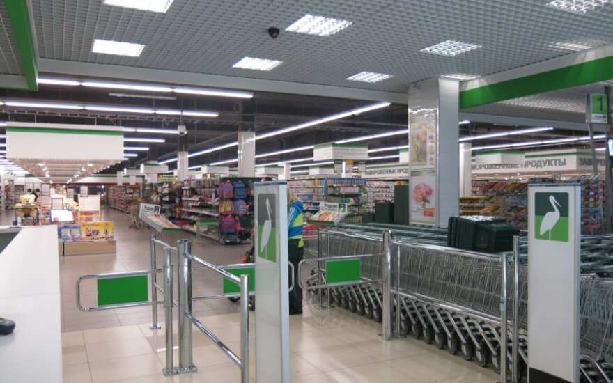 Отсутствие толчеи и чистота привлекают посетителей литовского торгового центра в Минске
