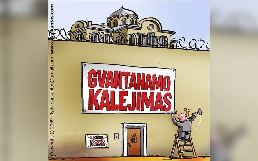 WikiLeaks: Литва с 2007 года вела секретные переговоры об узниках Гуантанамо