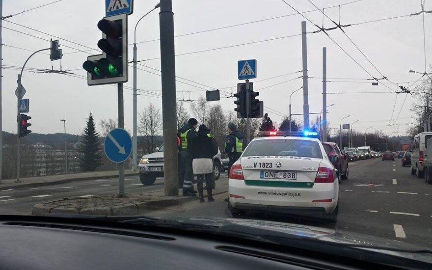 В Вильнюсе автомобиль сбил пожилого мужчину