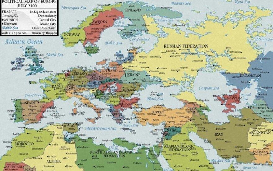 Wizja Europy w 2100 roku. Globalne ocieplenie zrobi swoje