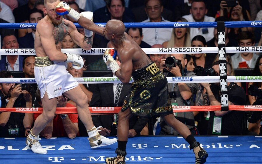 Floydas Mayweatheris prieš Conorą McGregorą