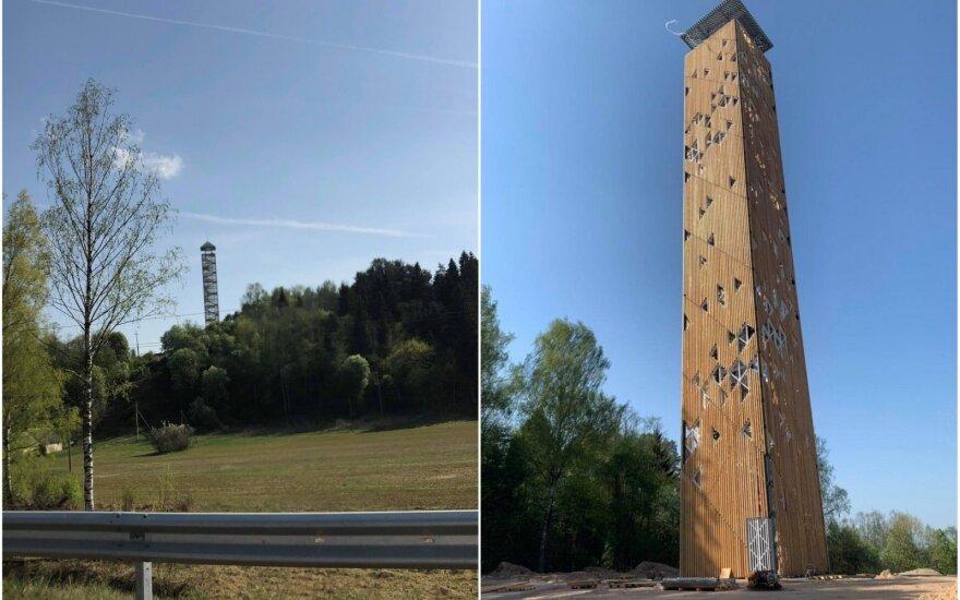 Apžvalgos bokštas Nemuno kilpų regioniniame parke