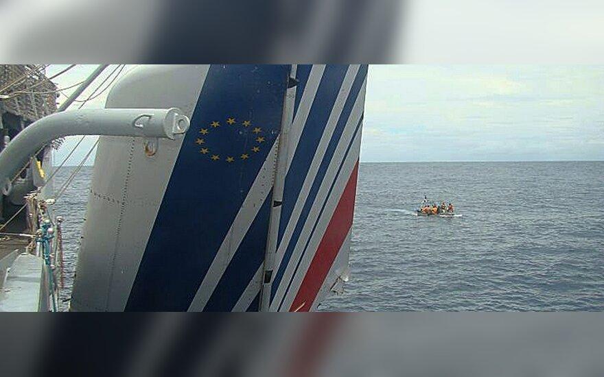 """В Атлантике найден """"хвост"""" аэробуса Air France"""