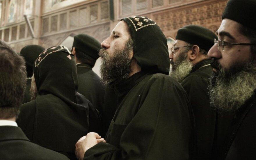 Atsisveikinimas su koptų popiežiumi Shenuda III