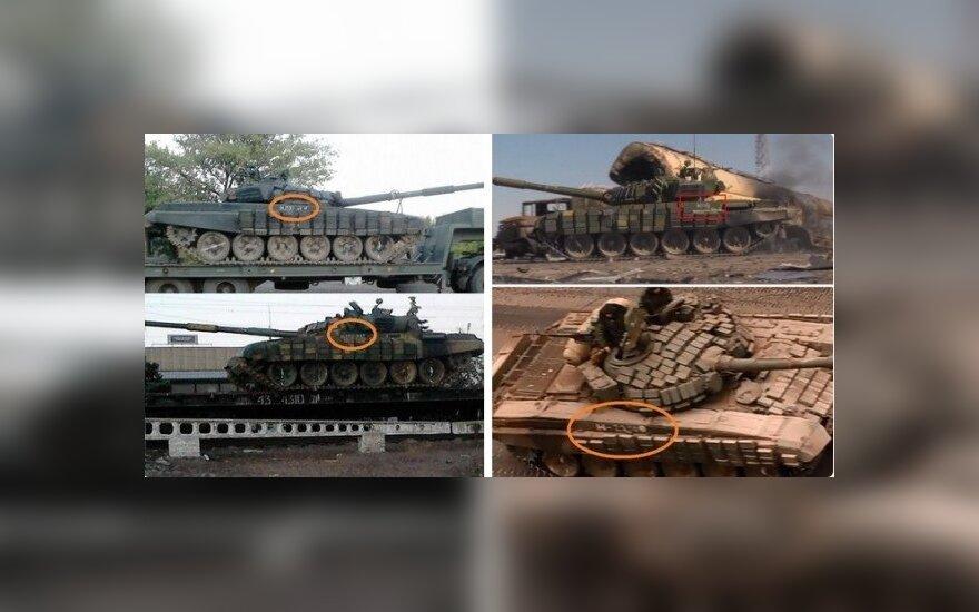Rusijos tankai,  Conflict Reporter nuotr.