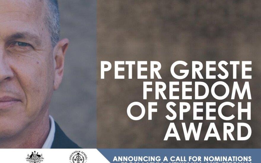 В странах Балтии учредили новую премию в поддержку свободы слова
