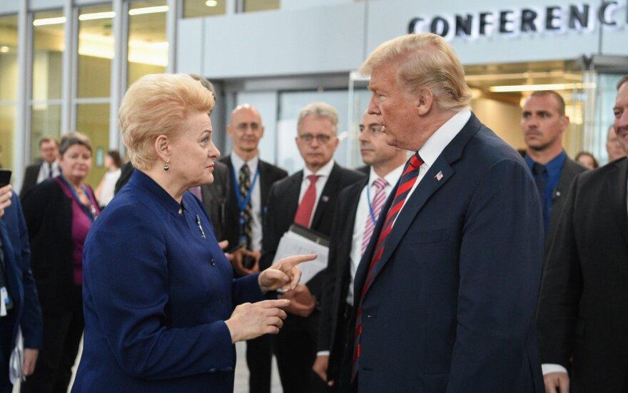 """""""Отличная работа! Хочу вас поздравить!"""": за что Трамп и Макрон благодарили президента Литвы?"""