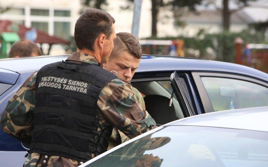 Нарушивший границу Литвы российский пограничник освобожден в зале суда