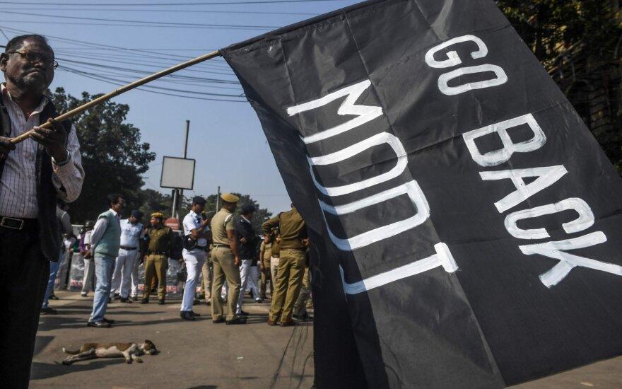 Protestas Indijoje