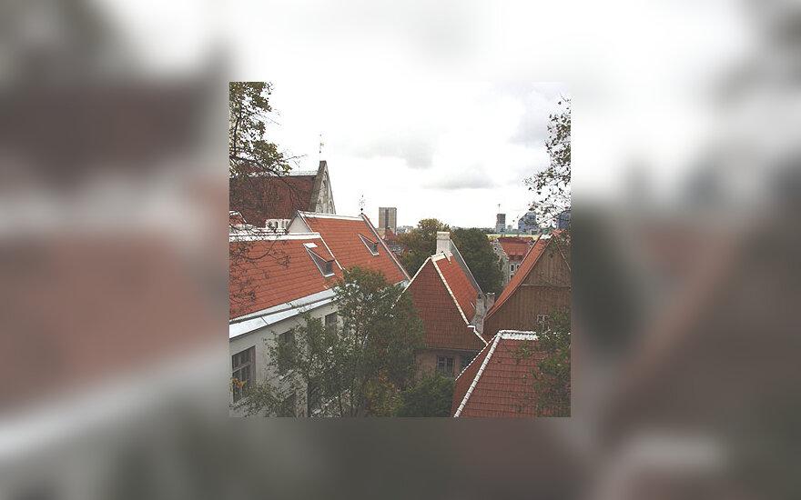 Stogai, miestas, namai