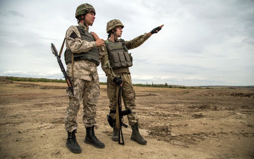На Донбассе за сутки погибли трое украинских военных